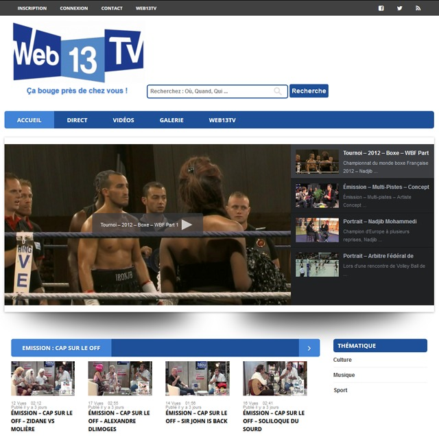 Association Web13TV